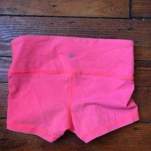Lululemon Pink Yoga Dance Shorts 2